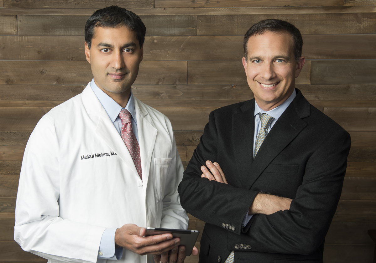 Founders Mukul Mehra, M.D. & G.T. LaBorde